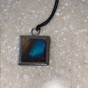 Jewelry - NWT Butterfly necklace